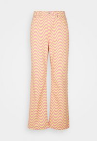 The Ragged Priest - WAVE - Relaxed fit jeans - pink/yellow - 6