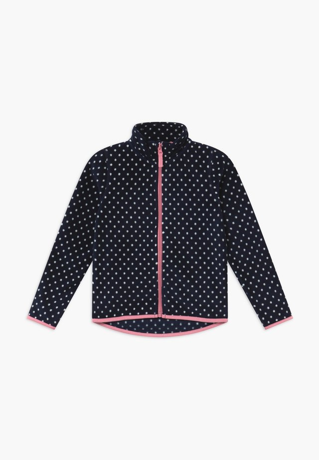 KIDS SPOT POLAR - Fleecejacke - dark blue