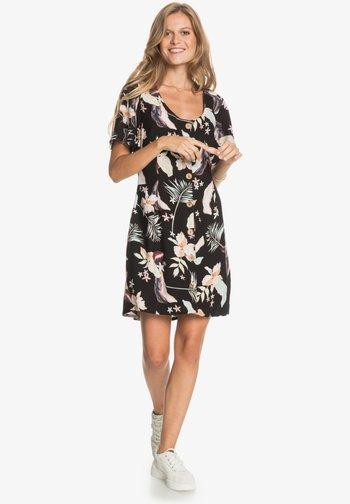 ALL EYES ON LOVE - Robe d'été - anthracite large praslin