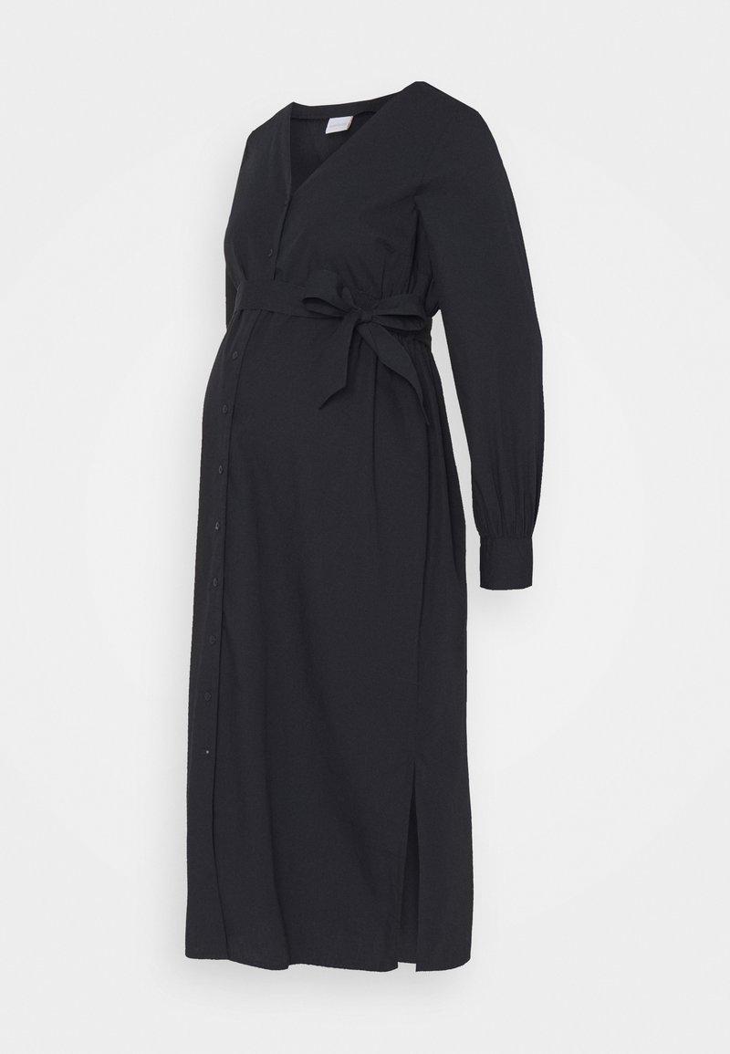 MAMALICIOUS - NURSING DRESS - Denní šaty - dark navy