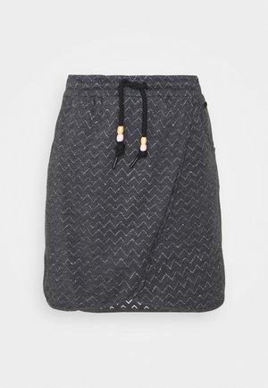 NAILA - Mini skirt - black