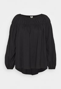 BLOUSE - Camicetta - black dark