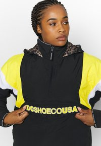 DC Shoes - TRANSITION REVERSIBLE ANORAK - Snowboard jacket - black - 5