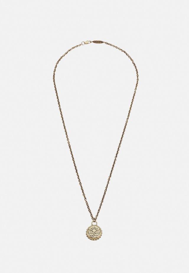 DESERT SUNSET BOTTLE TOP NECKLACE - Halsband - gold-coloured