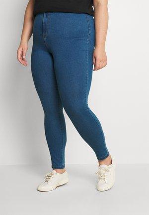 NMELLA SUPER - Jeans Skinny Fit - medium blue denim