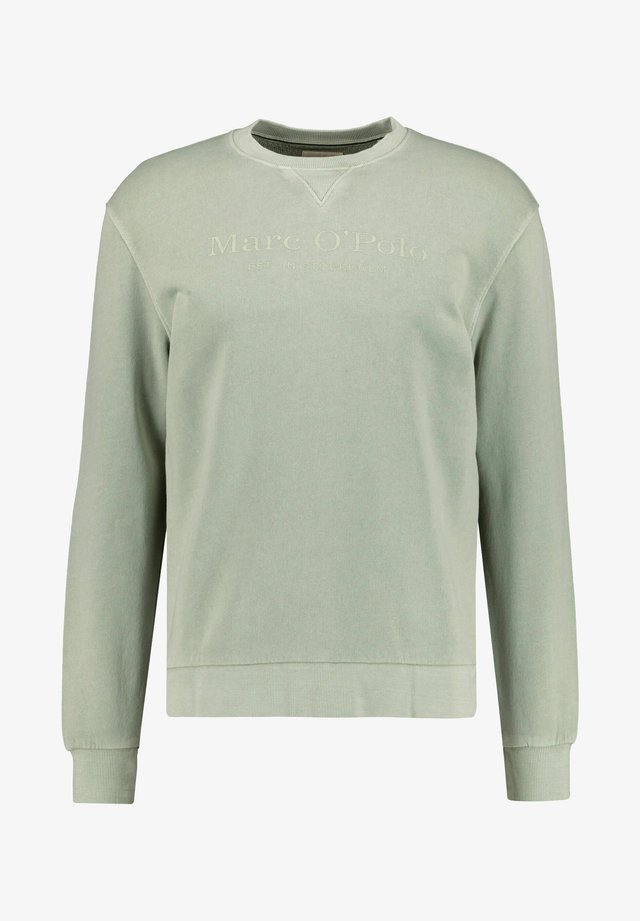 LONG SLEEVE CREW NECK - Sweatshirt - grün