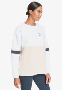 Roxy - WEEKEND VIBRATIONS - Sweatshirt - bright white - 4