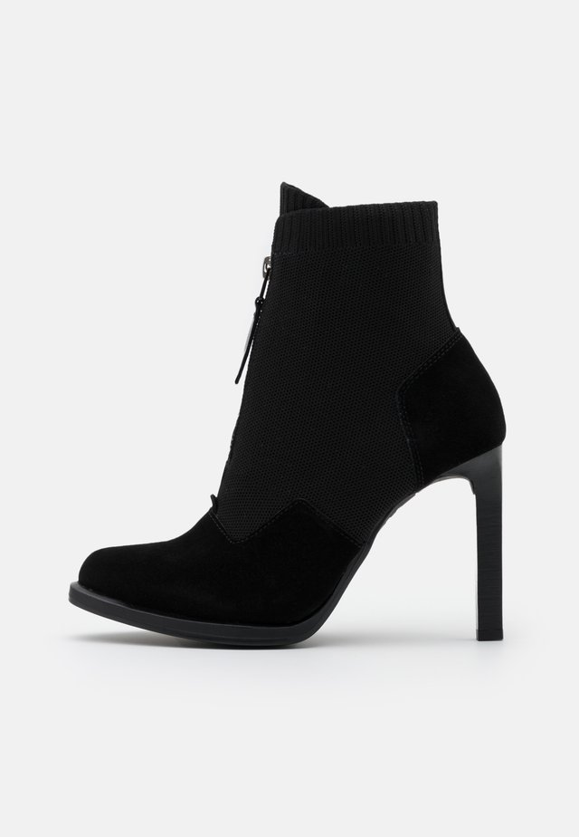 STRETT HEEL BOOT - High heeled ankle boots - black