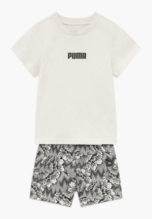 BABY SUMMER SET - Sports shorts - silver birch