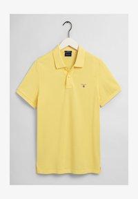 GANT - Polo shirt - brimestone yellow - 4