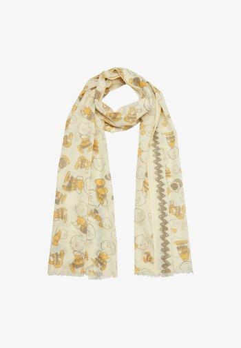 Sjaal - yellow aop