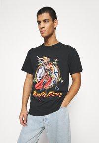 Diamond Supply Co. - NO MERCY TEE - Print T-shirt - black - 3