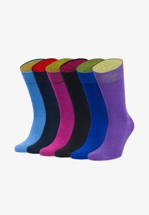 SECHSER IM LOTTO - Socks - blau,lila,schwarz