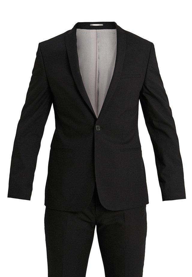 GOTHENBURG SUIT SLIM FIT - Suit - black