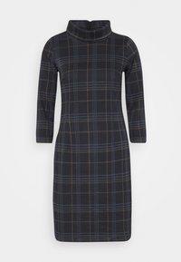 TOM TAILOR - DRESS EASY SHAPE - Sukienka letnia - navy/blue/camel - 3