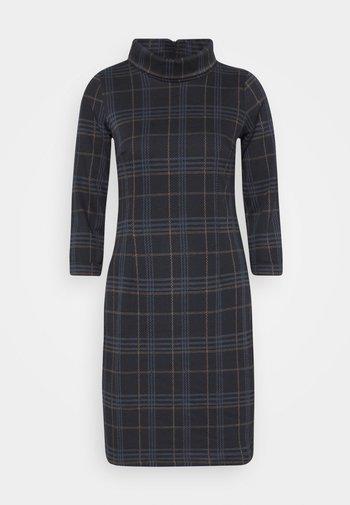 DRESS EASY SHAPE - Day dress - navy/blue/camel
