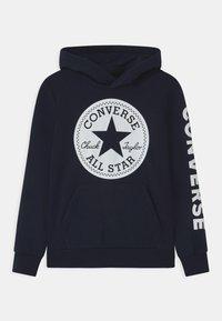 Converse - SIGNATURE CHUCK PATCH HOODIE - Sweat à capuche - obsidian - 0