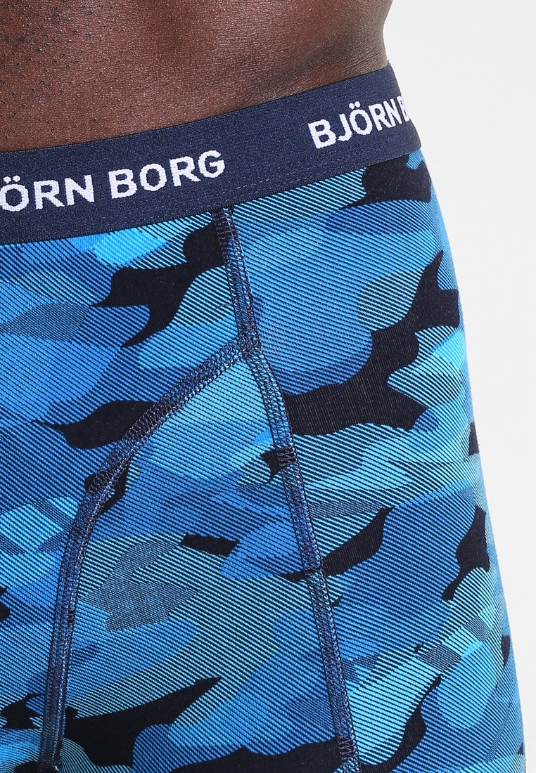 Björn Borg Shadeline Sammy Shorts 3 Pack - Underbukse Total Eclipse/svart