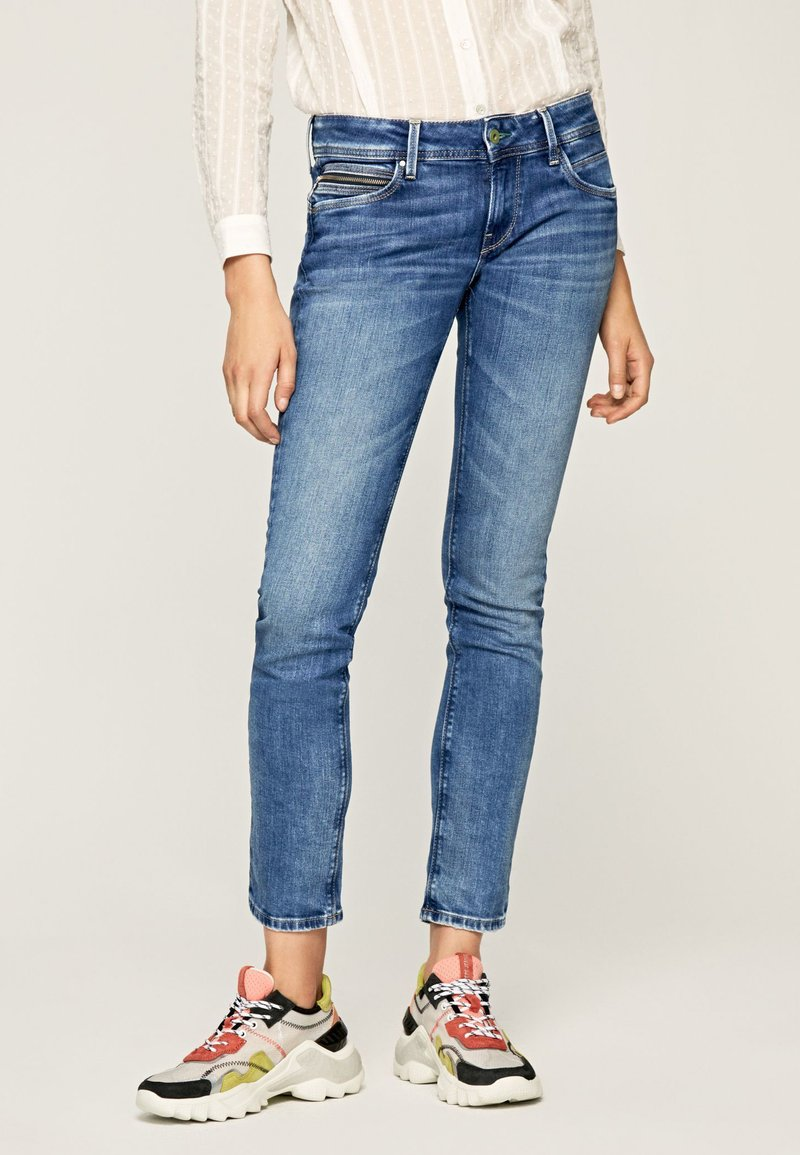 Pepe Jeans - Jeansy Slim Fit - blue