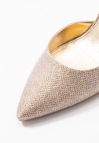 MICHAEL Michael Kors - LUCILLE FLEX SLING - High heels - pale gold - 2