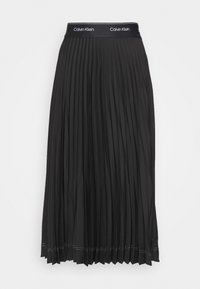 Calvin Klein - SUNRAY PLEAT SKIRT - A-lijn rok - black - 3