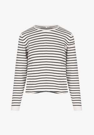 SJERSEY RAYAS - T-shirt imprimé - crudo