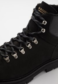 Jim Rickey - CLOUD HIKING BOOT - Lace-up ankle boots - black - 6