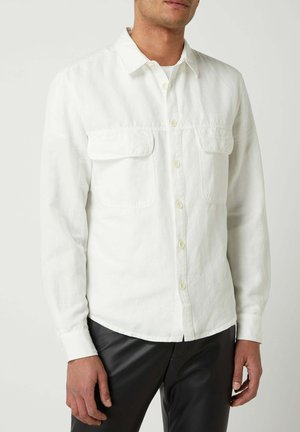 MIT BRUSTTASCHEN  - Shirt - offwhite