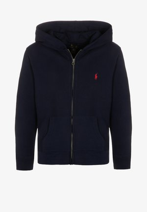 veste en sweat zippée - cruise navy