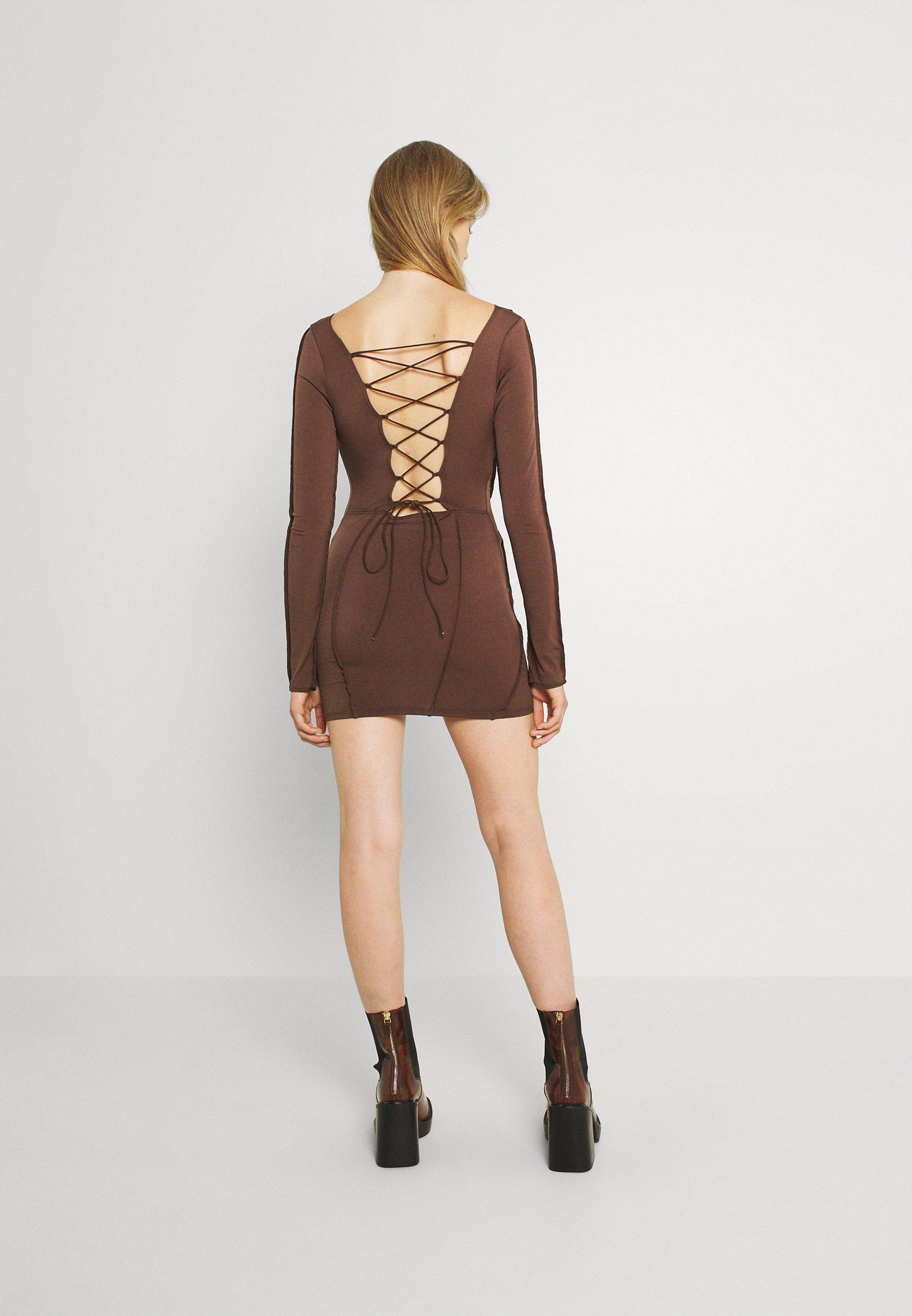 Damen SEAMS DREAMS DRESS - Jerseykleid