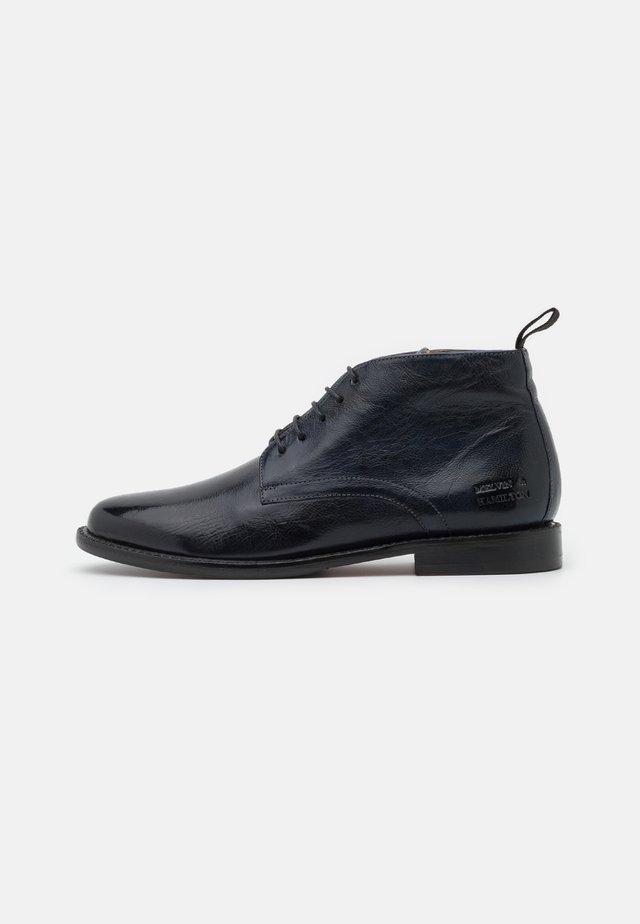 SELINA  - Boots à talons - navy