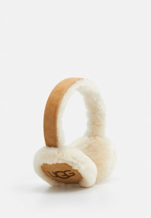 LOGO BLUETOOTH EARMUFF - Headphones - cognac
