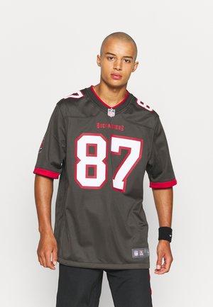 NFL TAMPA BAY BUCCANEERS ROB GRONKOWSKI GAME ALTERNATE - Club wear - deep pewter