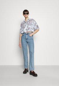 Monki - Button-down blouse - summerinfrance - 1