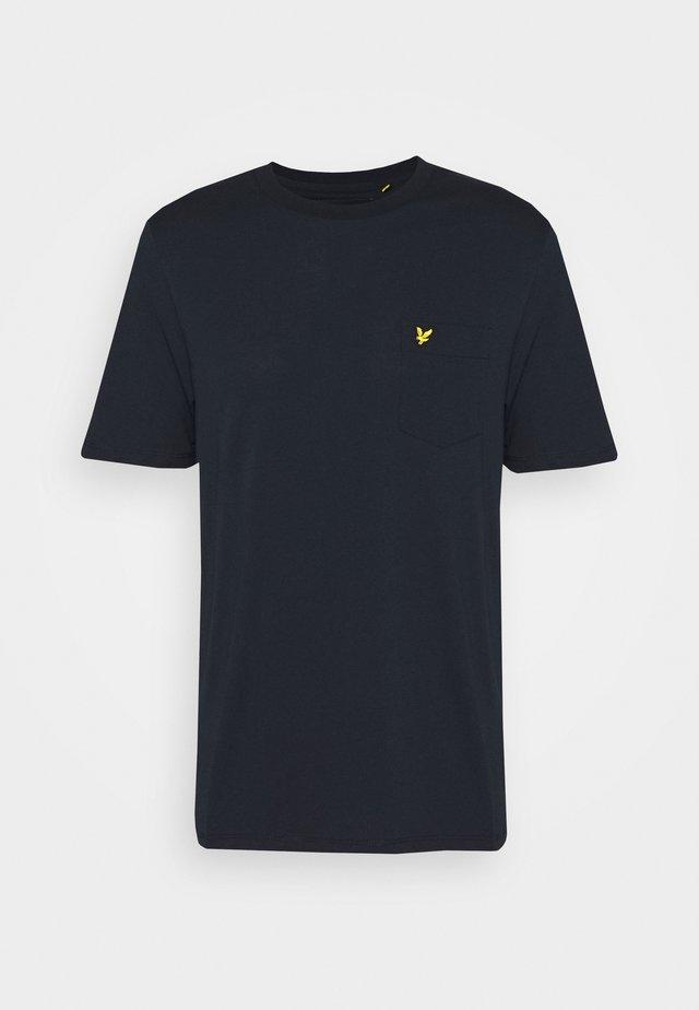 RELAXED POCKET - T-shirt basic - dark navy