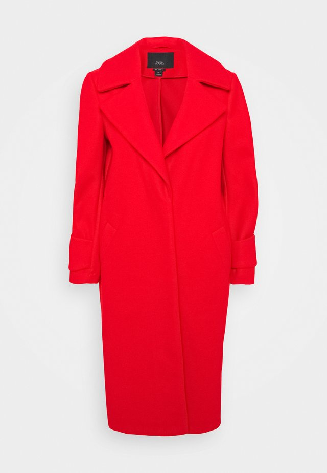 DROP SHOULDER - Classic coat - red