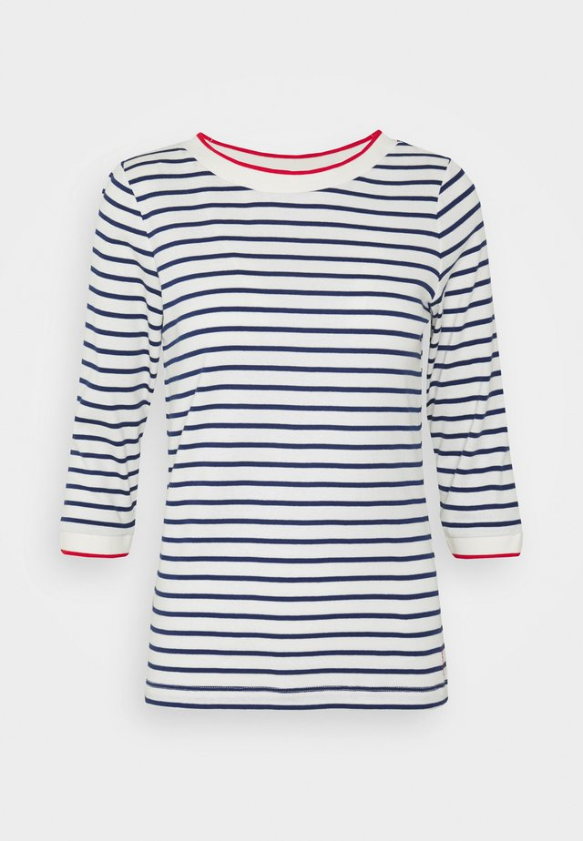 STRIPED - Langærmede T-shirts - off white