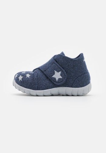 HAPPY - Slippers - blau