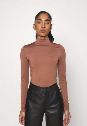 FANCY - Long sleeved top - chocolate
