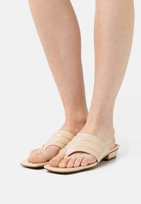 Chio - Sandalias de dedo - beige poncho - 0