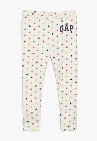 GAP - TODDLER GIRL ARCH - Leggings - multi/milk/pink - 0