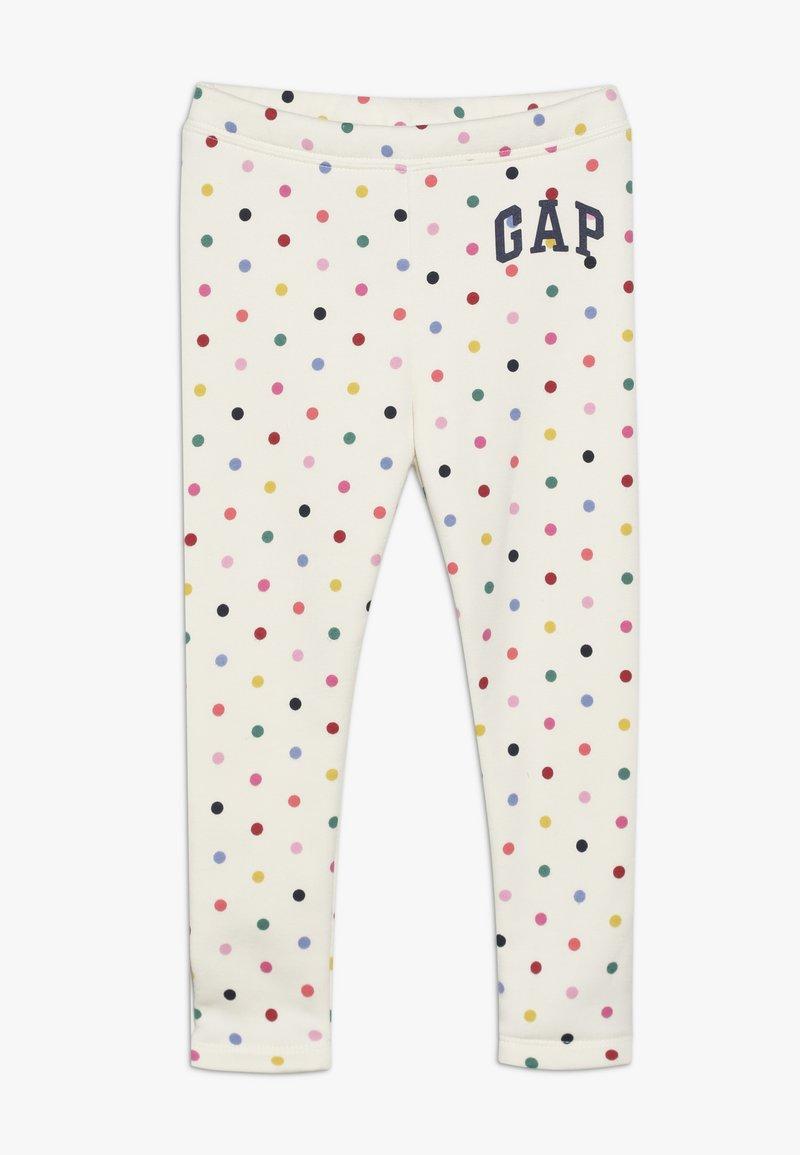 GAP - TODDLER GIRL ARCH - Leggings - multi/milk/pink
