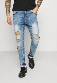 Night Addict - Jeans slim fit - acid wash - 0
