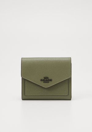 CROSSGRAIN LEATHER SMALL WALLET - Wallet - light fern