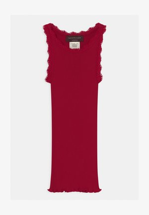 REGULAR LACE - Top - cranberry