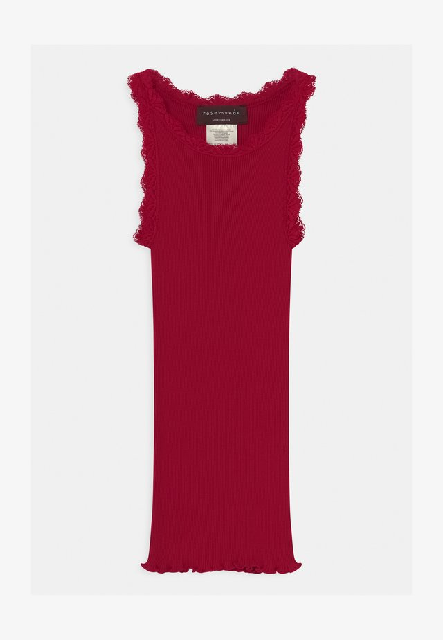 SILK REGULAR  - Top - cranberry