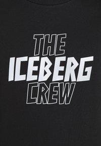 Iceberg - FELPA GIROCOLLO  - Sweatshirt - nero - 5