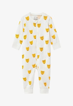 LEO FACES - Pyjama - light dusty white