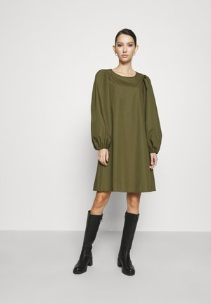PCTURA DRESS - Day dress - khaki