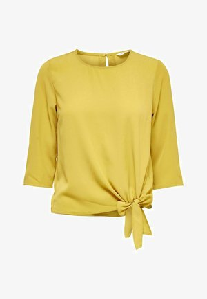 OBERTEIL DETAILREICHES - Blouse - tawny olive